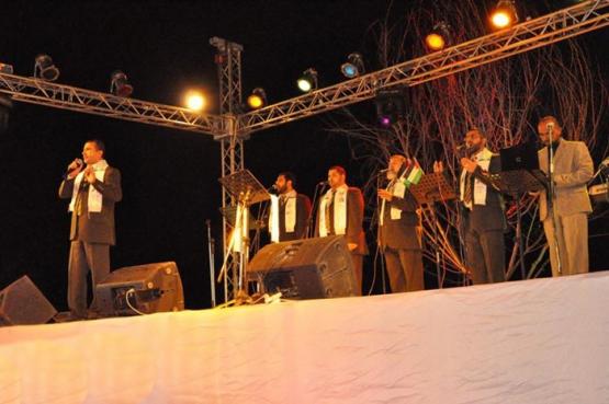 مهرجان أعراس وفاء الأحرار في مدينة أصداء بخانيونس