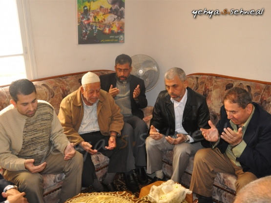 عقد قران المحرر القسامي القائد يحيى السنوار
