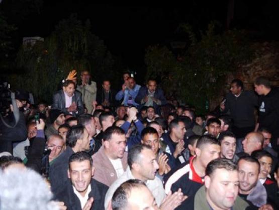 حفل زفاف المحرر نائل البرغوثي (عميد الأسرى)