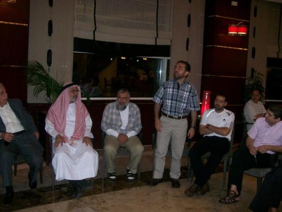 صور تكريم أسرى المفرج عنهم لدولة قطر