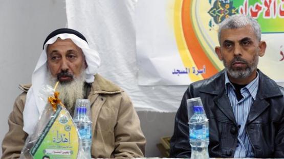 حماس تستضيف المحرر يحيى السنوار في دير البلح