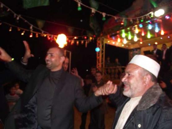 حفل زفاف الأسير القسامي المحرر أكرم الصعيدي
