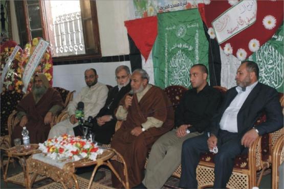 زفاف المحرر عمر أبو سنينة بحي الزيتون