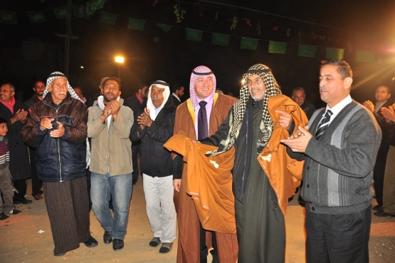 الأسير التميمي يكمل فرحته بغزة