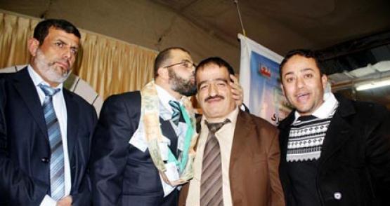 حفل زفاف الأسير المحرر أشرف الواوي