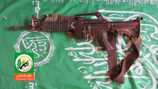 إحدى قطع السلاح التي غنمها المجاهدون