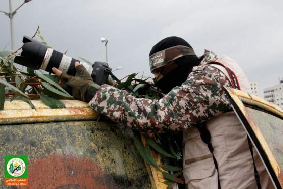 المكتب الإعلامي وتغطية مصورة للعرض العسكري