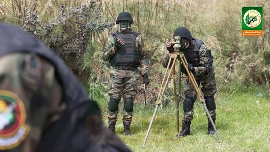 مفارز الهاون التابعة لسلاح المدفعية القسامية