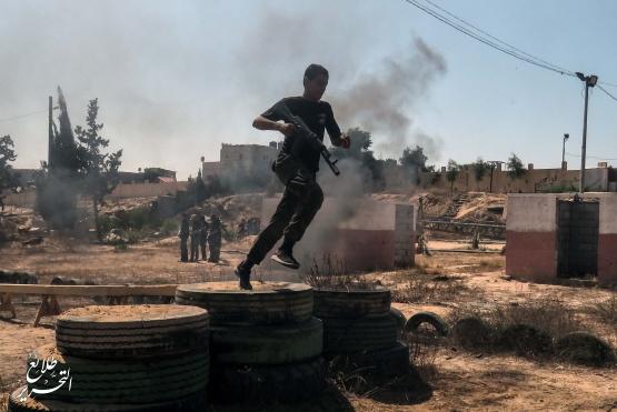 طلائع التحرير - اليوم الختمامي للمرحلة الاولى - لواء رفح