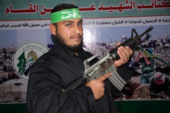 الشهيد القسامي سلمان نعيم الحرازين