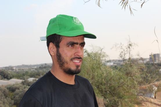الشهيد القسامي/ معتصم سليم سلامة الحاج سلامة حمدية