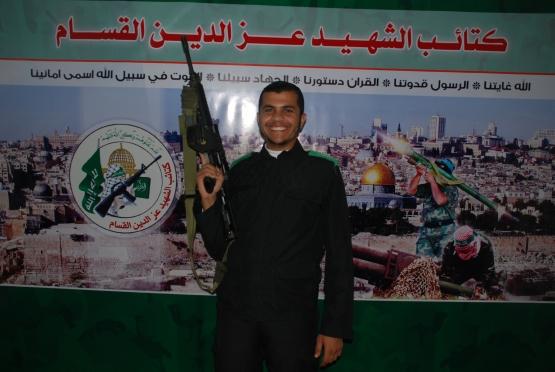 الشهيد القسامي محمد حسني سكر