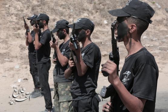 طلائع التحرير - اليوم الختمامي للمرحلة الاولى - لواء غزة