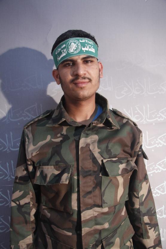 الشهيد القسامي/ شادي كمال رمضان ياسين