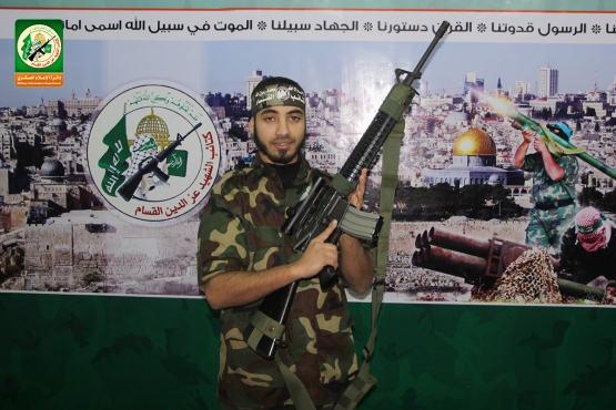 الشهيد القسامي محمد أبو عمرو