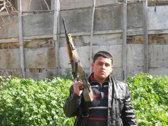 الشهيد القسامي طارق فايق حجاج