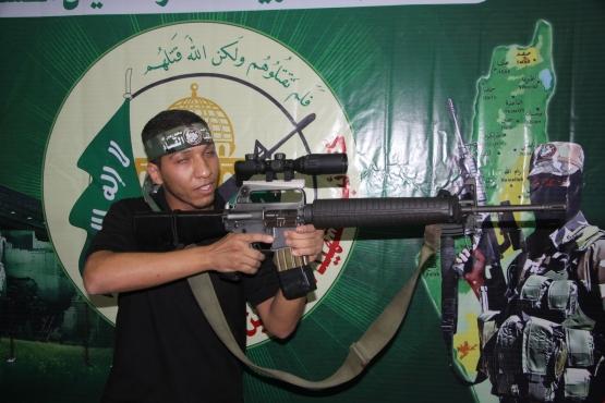 الشهيد القسامي عاهد زياد الغرابلي