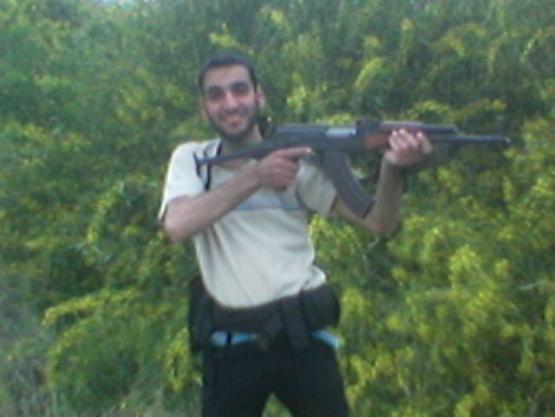 الشهيد القسامي أحمد طلال دادر