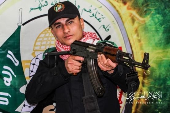 الشهيد القسامي/ أحمد أيمن عبد العال