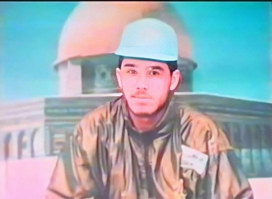 الشهيد القسامي/ عبد الرحمن محمد حمدان