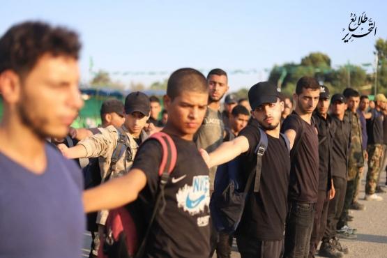 اليوم الأول والثاني للدورة العسكرية التدريبية «سيف القدس»  - لواء رفح