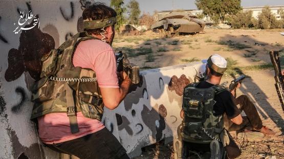 اليوم الرابع للدورة العسكرية التدريبية «سيف القدس»  - لواء غزة