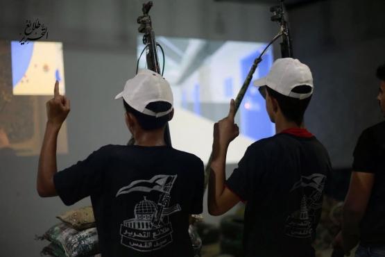 اليوم الثالث للدورة العسكرية التدريبية «سيف القدس»  - لواء غزة