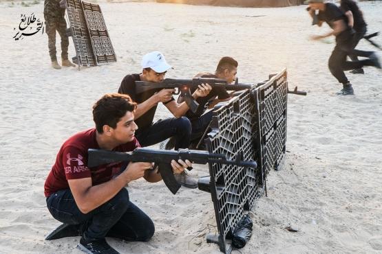 اليوم الأول والثاني للدورة العسكرية التدريبية «سيف القدس»  - لواء غزة