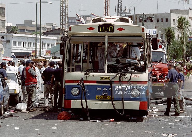 عملية الحافلة رقم 20 في تل أبيب