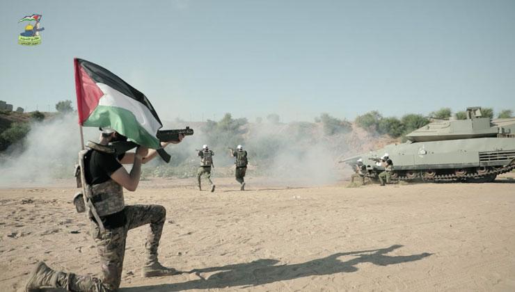 إعلان انطلاق دورة عسكرية تدريبية «سيف القدس»